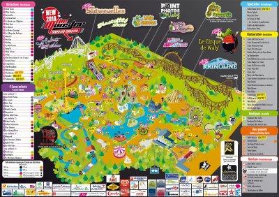 Le Plan du Parc !!!!!!!