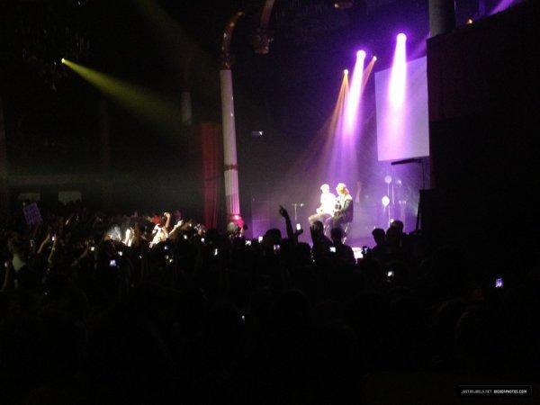 Justin hier soir au concert des Nrj Music Tour ♥
