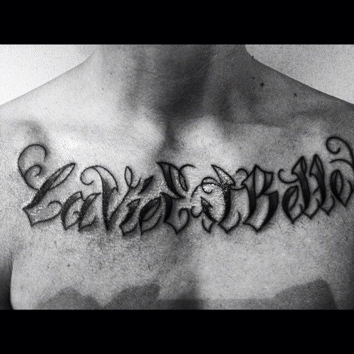 new tatouage de keen'v <3