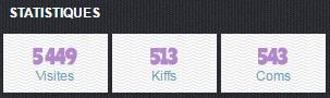 5 449 visites ! 513 kiffs ! 543 coms !
