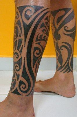 Maori Mollets Tatoo Kulture