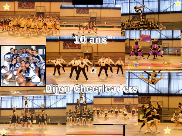 GALA 10 ANS Dijon Cheerleaders
