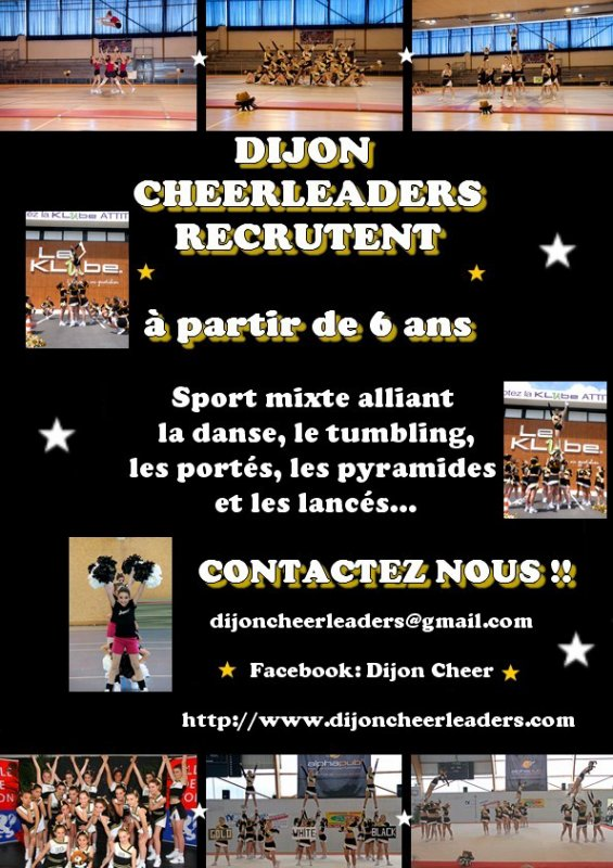 Rentrée Dijon Cheerleaders saison 2011-2012