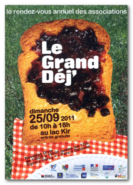 Le Grand déj' 2011 au Lac Kir