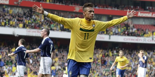 le talentueux Neymar JR