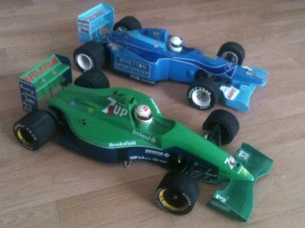 F1 BENETTON & JORDAN