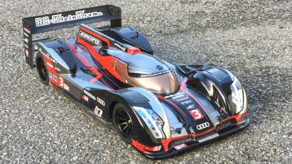 Team Saxo Audi R18 LMP1