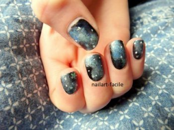 [article 6] Nail-art galaxie