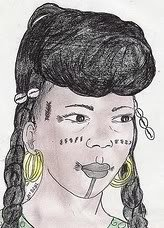 femme Bororo du Niger