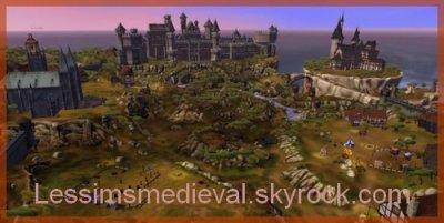 chateaux,village,sims,ect...