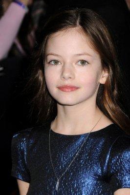 Mackenzie a l'avant première de Twilight