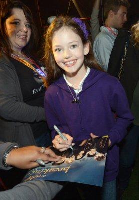 Mackenzie au Comic Con