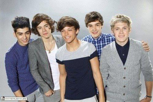 Le groupe : One direction.