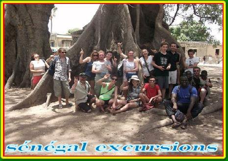découverte de la brousse et des villages et les iles du sine saloum