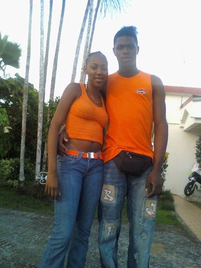 les amoureux en orange