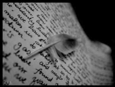 Je t'ecrit cette histoire specialement pour toi.........
