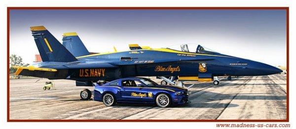 Un avion de chasse cette Mustang !!