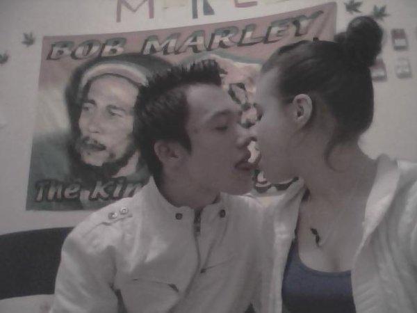 Mon homme et Moi = 9 mois <3