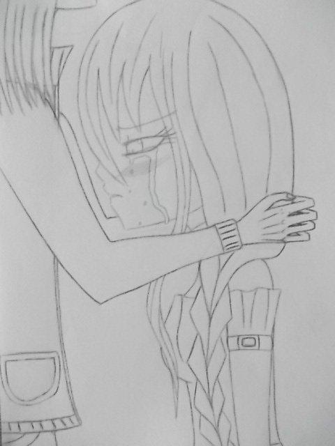 Les pleures/ les amis/ le réconfeur