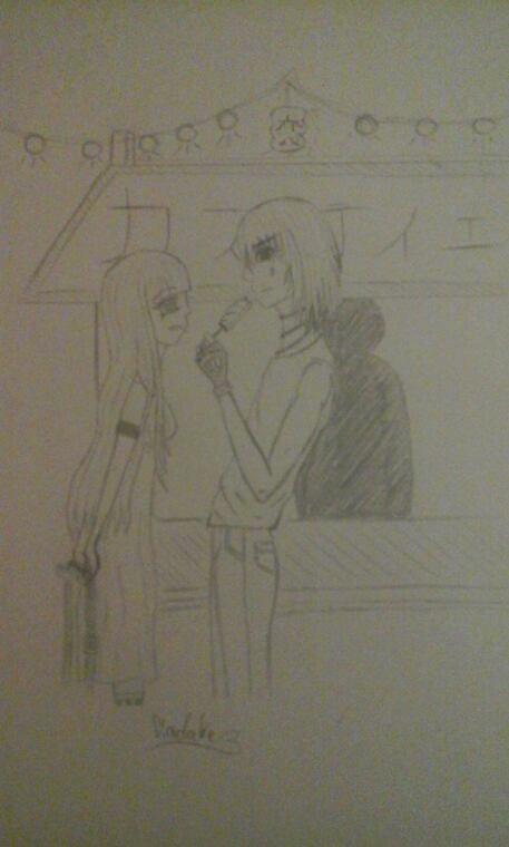 Lia et Castiel