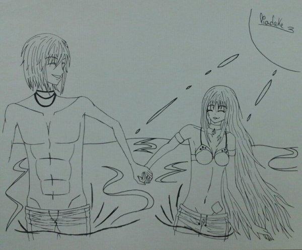 Castiel et Lia :3