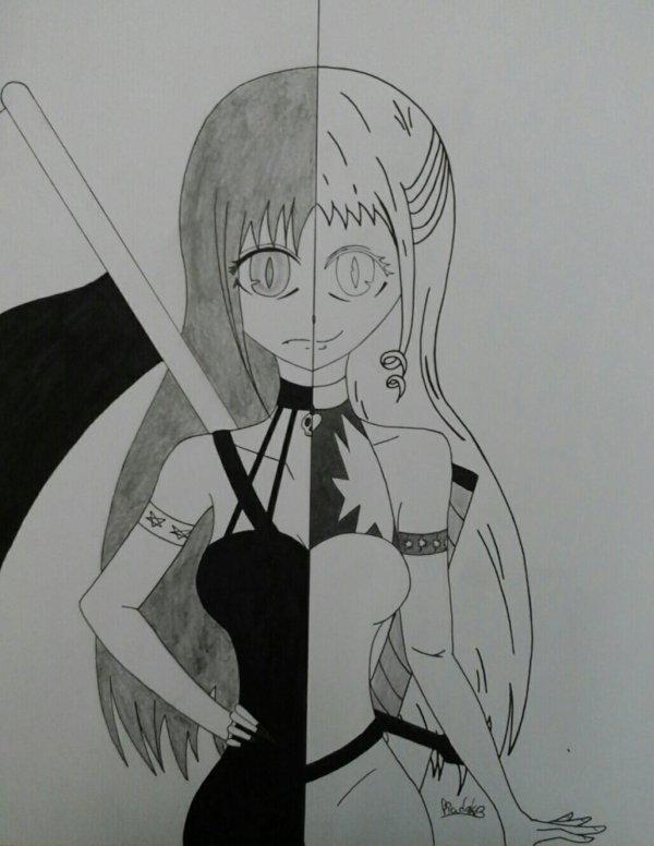 Noir et blanc/Démon et Dieu