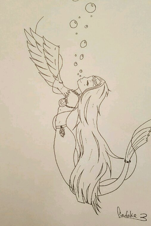 Ayumi (sirène/harpie)