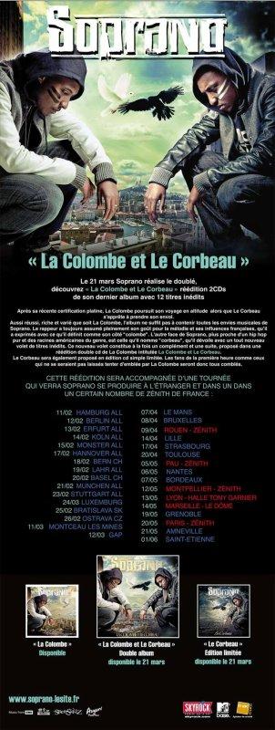 LA COLOMBE ET LE CORBREAU LE 21MARS DANS LES BACS