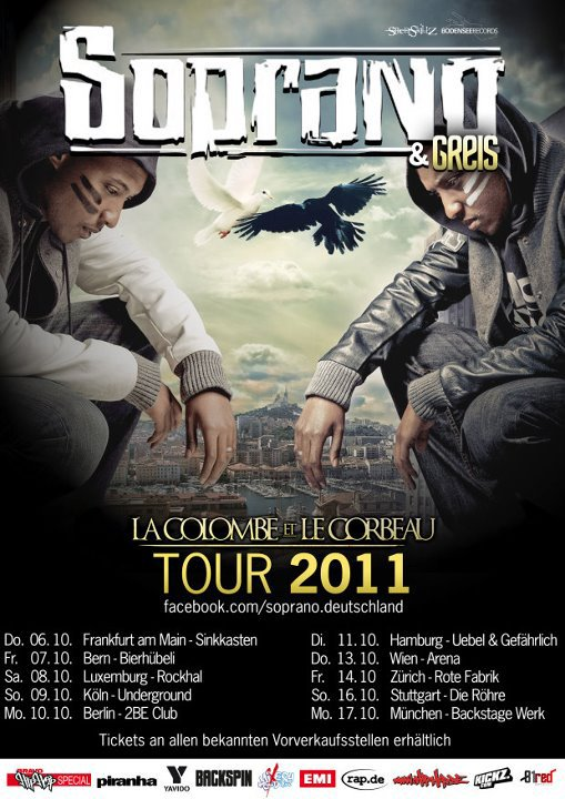 NOUVELLE TOURNEE ALLEMANDE DE SOPRANO 2011