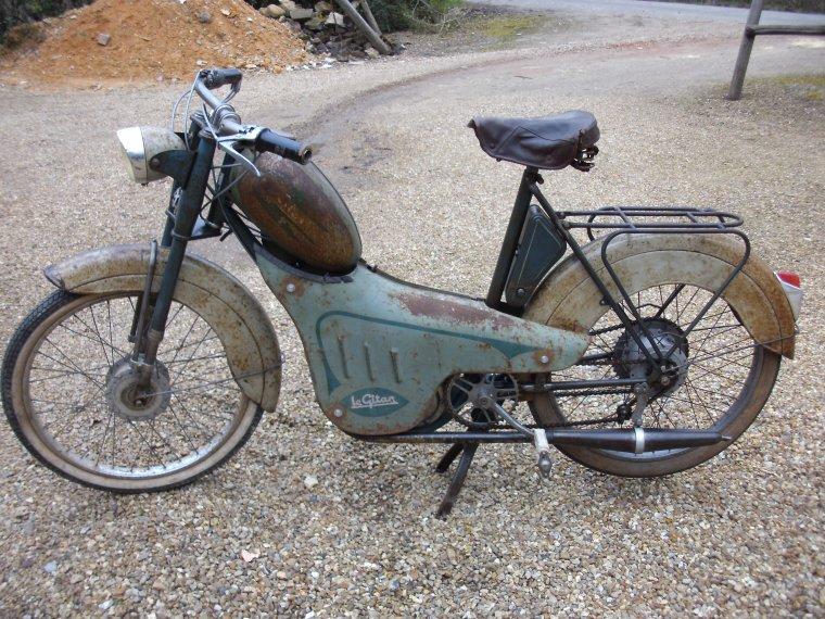 LE GITAN  cyclomoteur  type 55