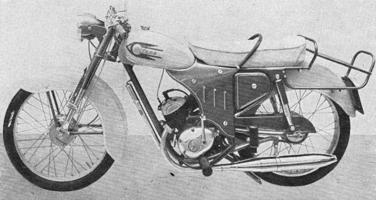 velomoteur  GITANE  type S98
