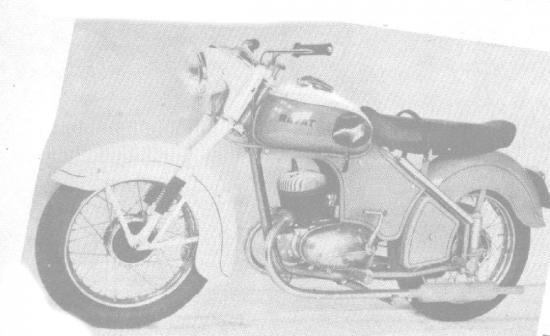 Velomoteur RAVAT  125cc