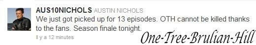 YYYAAA!! =) Merci à vous Austin et Sophia pour cette magnifique nouvelle!!