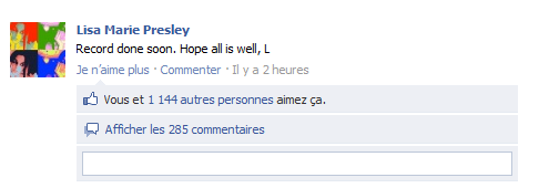 - ¤ Nouveau message de Lisa sur son FB + Citations + Photo de Michael L. avec Harper & Finley ♥ ¤ -