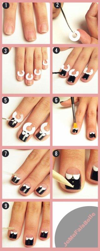 Nail-Art : Chemise