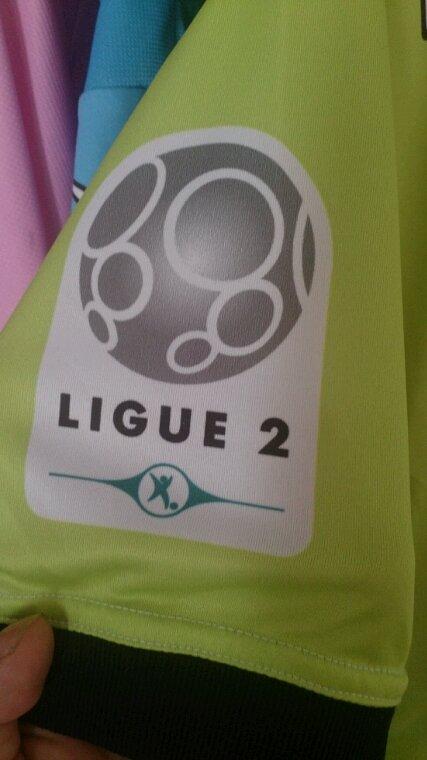 Maillot Tours Fc début de saison 2013-14 extérieur. Porté par F.Diawara
