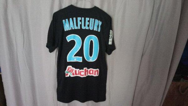 Maillot Tours Fc extérieur saison 2015-2016 porté par G. Malfleury