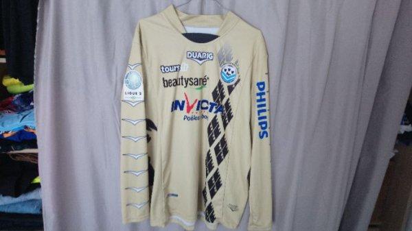 Maillot Tours Fc Gardien saison 2011-12 porté par J. Sopalski