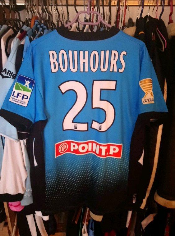 Maillot domicile coupe de la ligue saison 2013 2014 porté par S.Bouhours