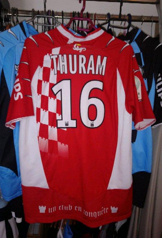 Maillot Gardien Tours Fc saison 2010-2011 porté par Yohann Thuram Ulien
