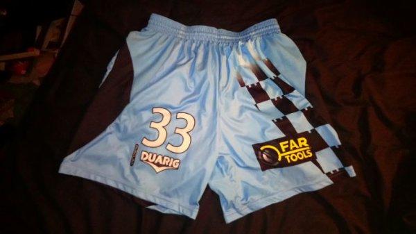 Short Tours Fc domicile saison 2011-12 porté par J. Faucher