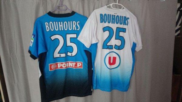 Maillot Tours Fc extérieur saison 2013 2014 porté par S.Bouhours