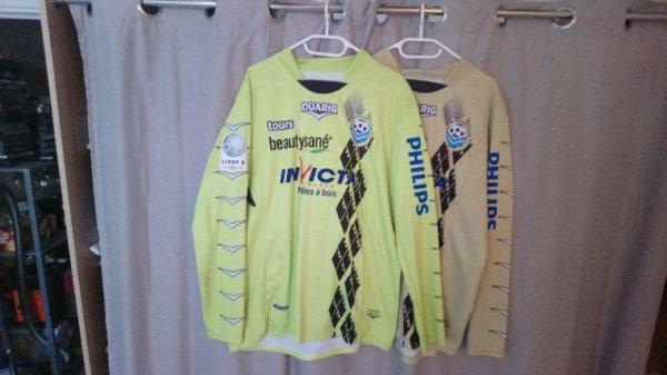 Maillot Tours Fc Gardien saison 2011-12 porté par B.Leroy