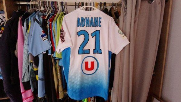 Maillot Tours Fc extérieur saison 2013-14 porté par Y. Adnane