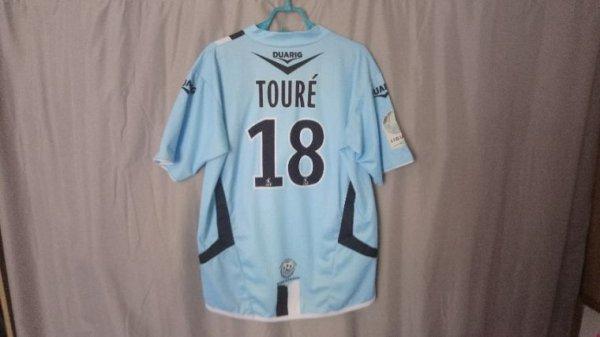 Maillot Tours Fc domicile saison 2008-09 porté par Y. Touré