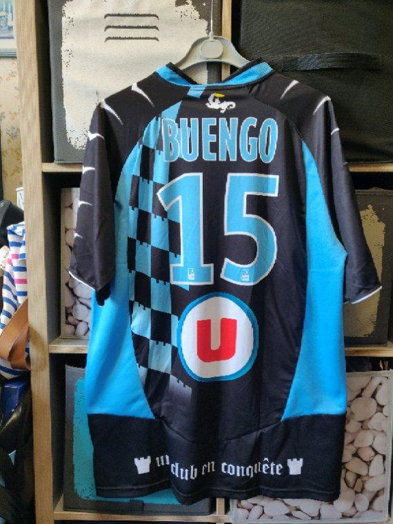 Maillot Tours FC extérieur saison 2010/11 porté par A.T.Buengo