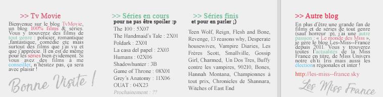 • •  Bienvenue sur votre blog référence 100% films & séries