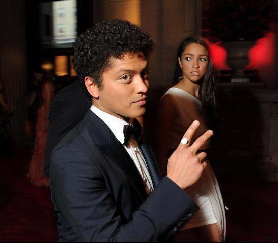 Bruno Mars au Met Gala.