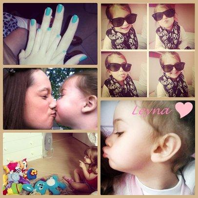 Leyna: Ma poupette, Ma nièce mais avant tout Ma Filleule. ♥