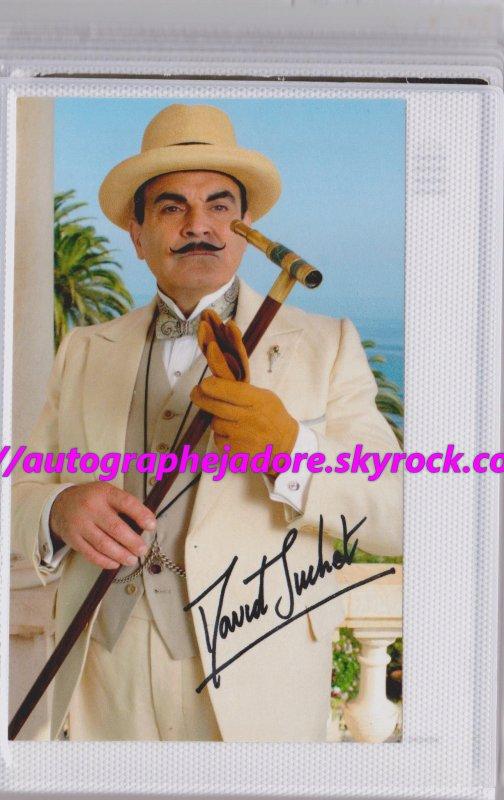 autographe de David Suchet